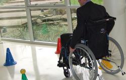 Des parcours en fauteuil