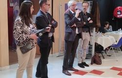 Ouverture des 16es Rencontres en présence de M. PRIVAT, M. BERTON, Mme ZAZZALI et M. MALANDAIN