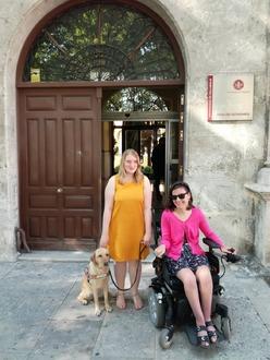 Dorine et Noémie à Valladolid